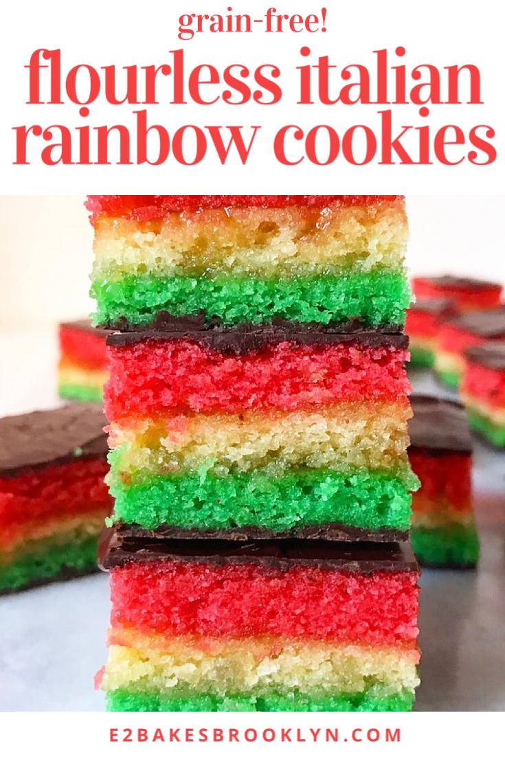 Flourless Italian Rainbow Cookies
