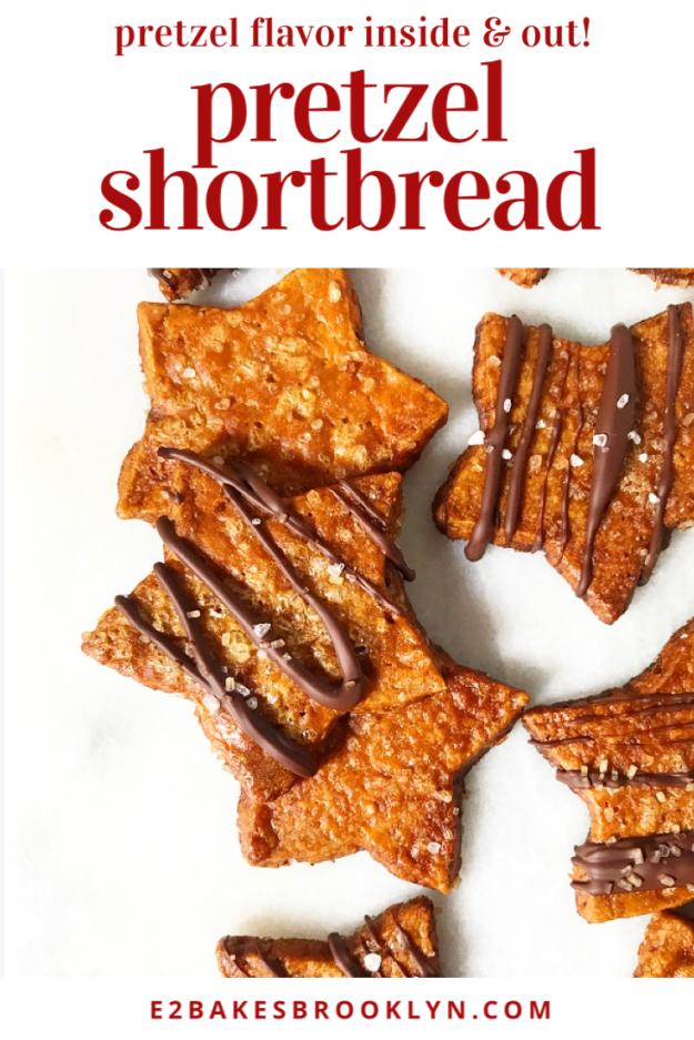 Pretzel Shortbread