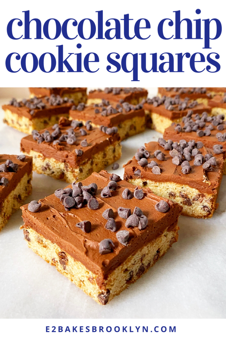 Chocolate Chip Cookie Squares