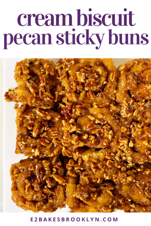 Cream Biscuit Pecan Sticky Buns