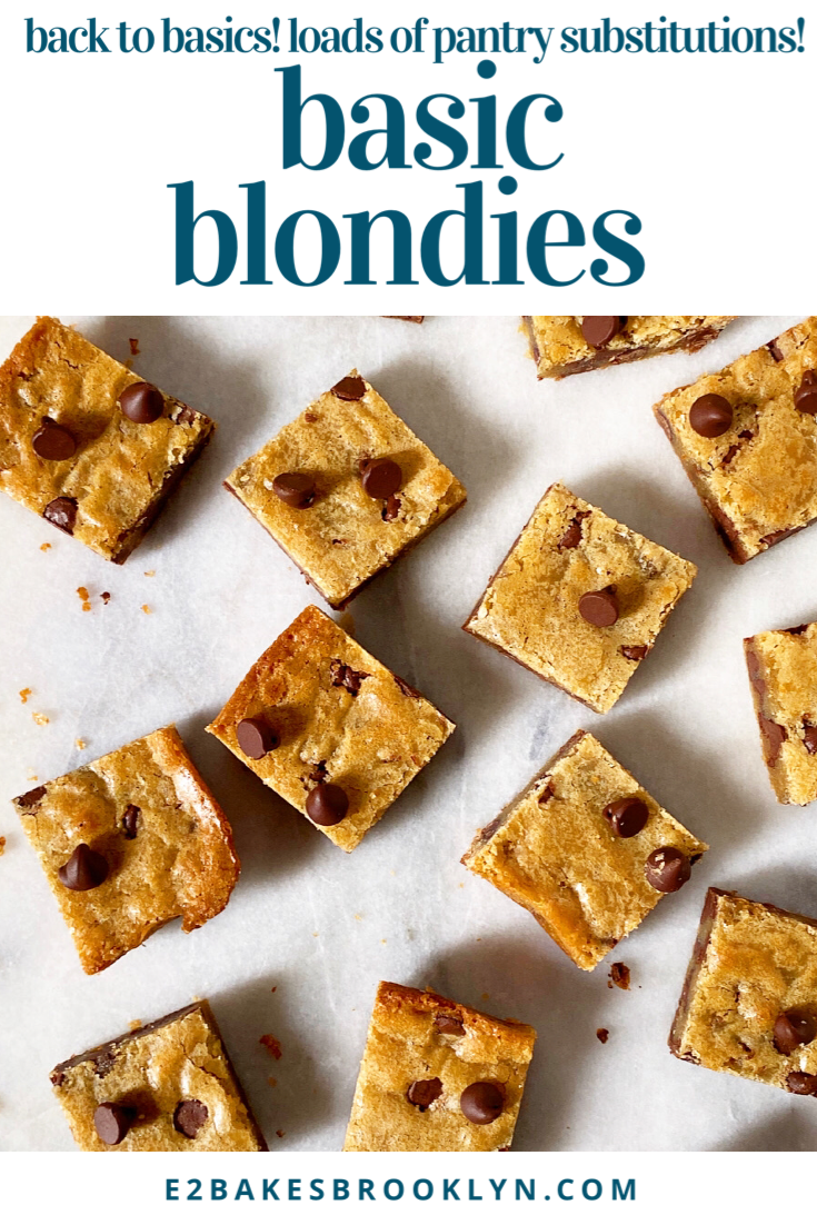 Basic Blondies