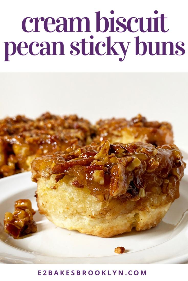 Cream Biscuit Pecan Sticky Buns