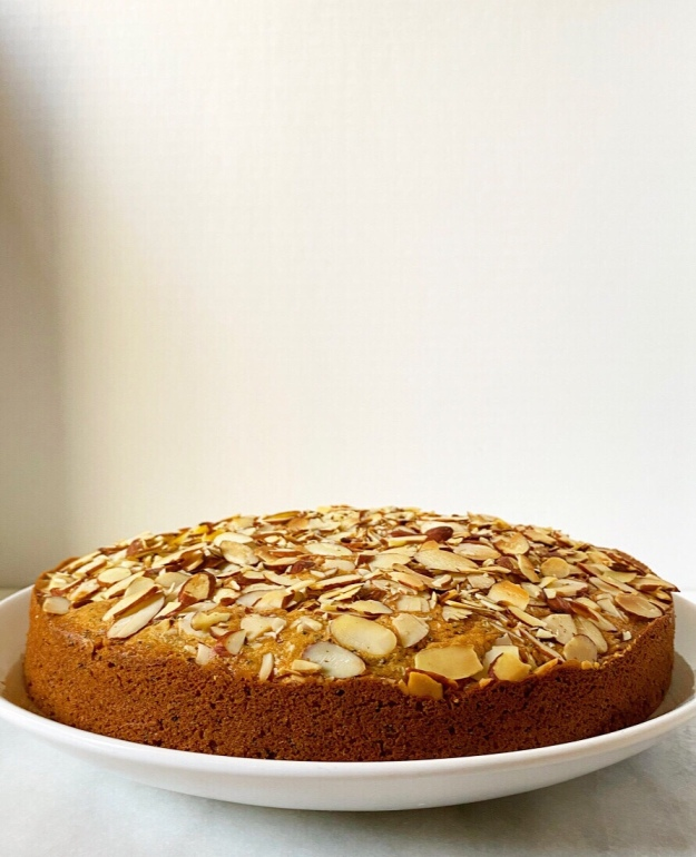 Almond Poppy Seed Coffee Cake