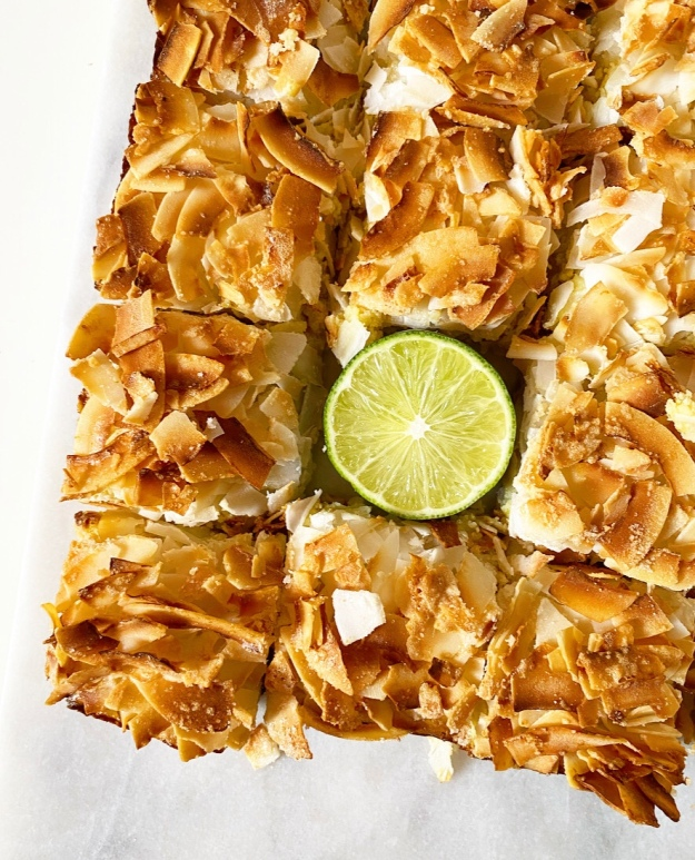 Coconut Lime Squares