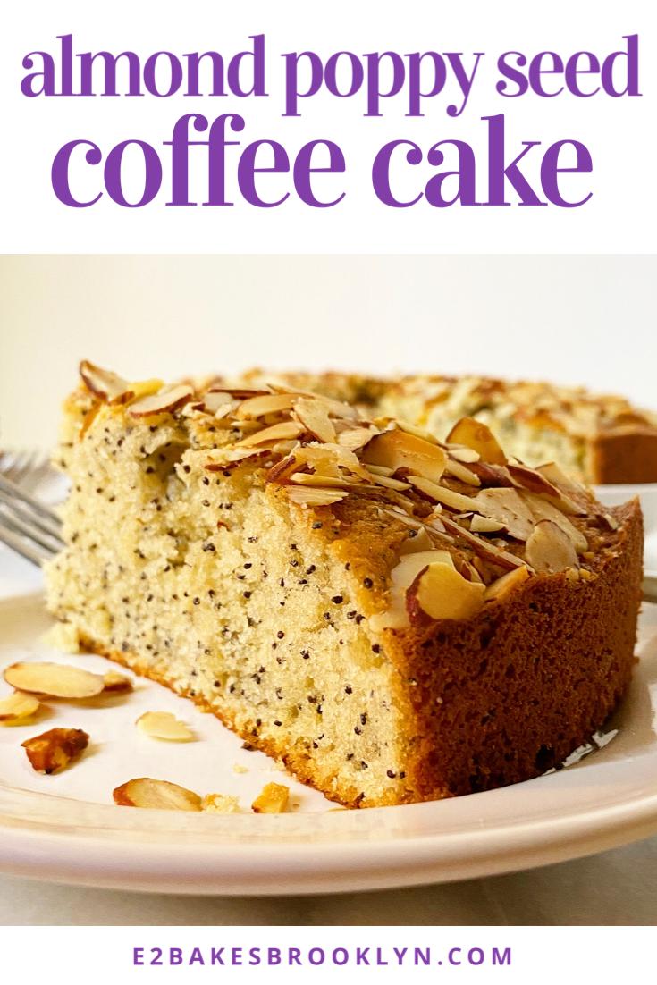 Almond Poppy Seed Coffee Cake