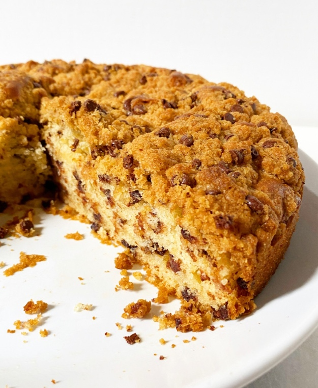 Chocolate Chip Cookie Crumb Cake