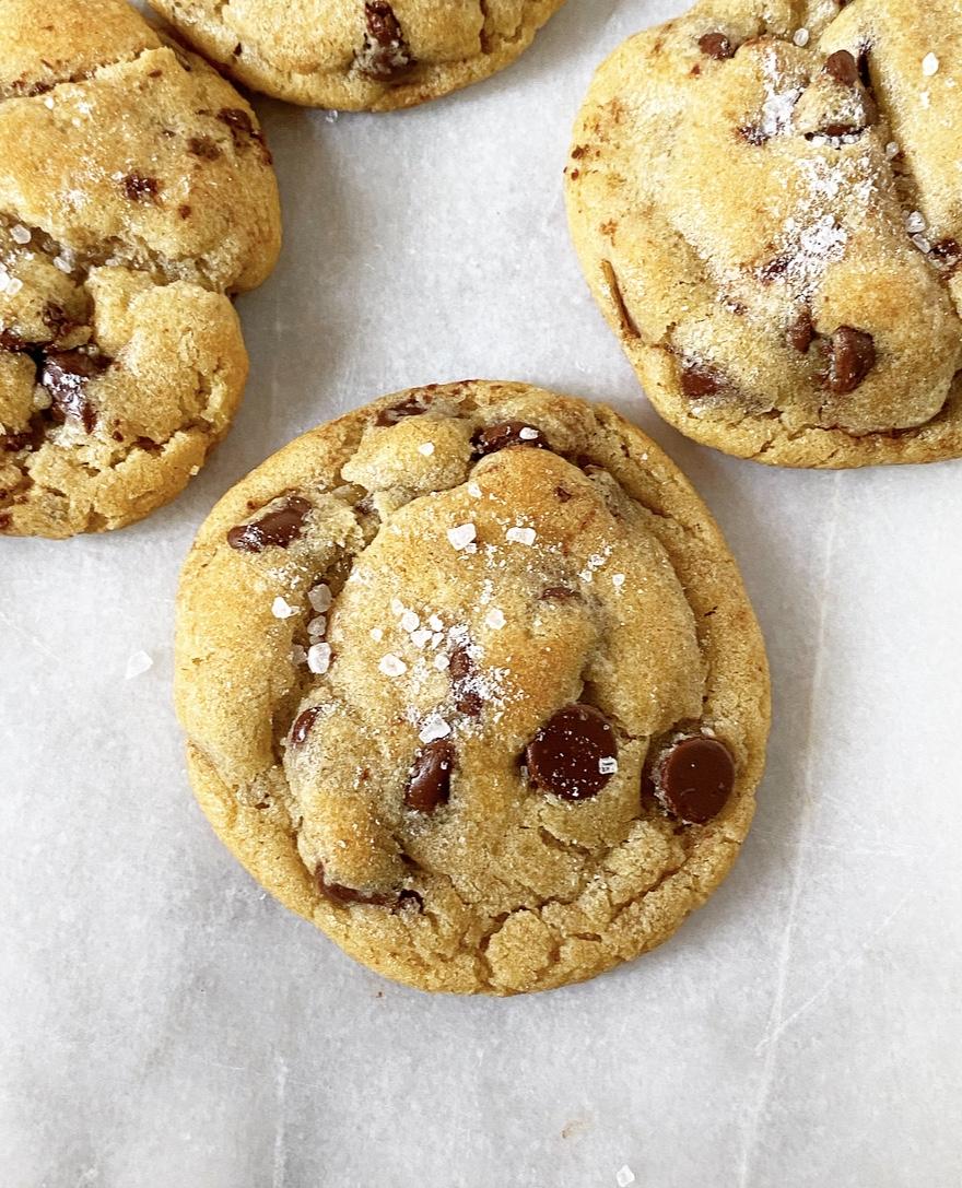 """I Got Yolks"" Chocolate Chip Cookies"