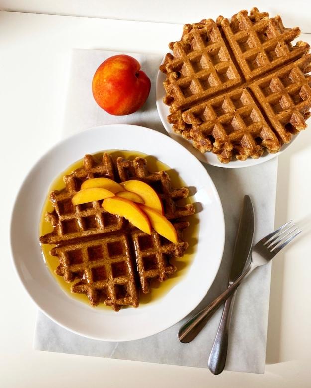 Oatmeal Waffles {Vegan & Gluten-Free}