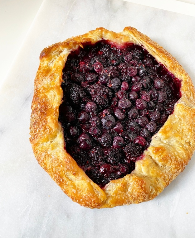 Black & Blueberry Galette