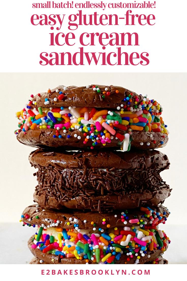 Easy Gluten-Free Ice Cream Sandwiches