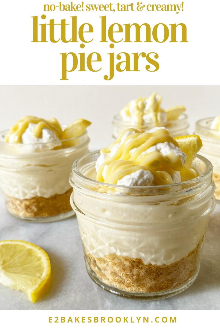 Little Lemon Pie Jars