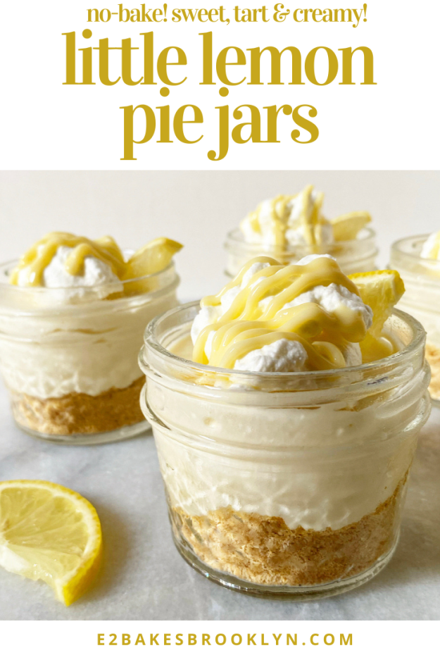 Little Lemon Pie Jars