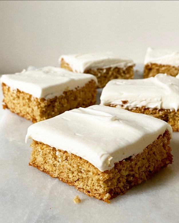 Oatmeal Creme Pie Bars