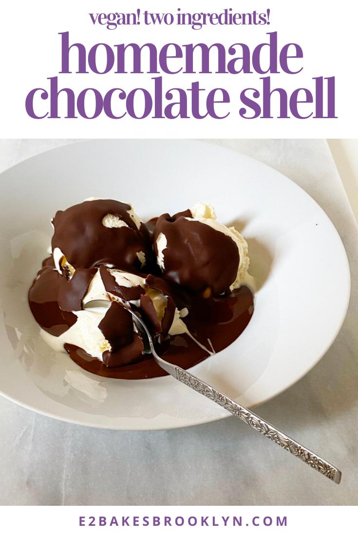 Homemade Chocolate Shell
