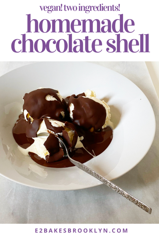 Homemade Chocolate Shell