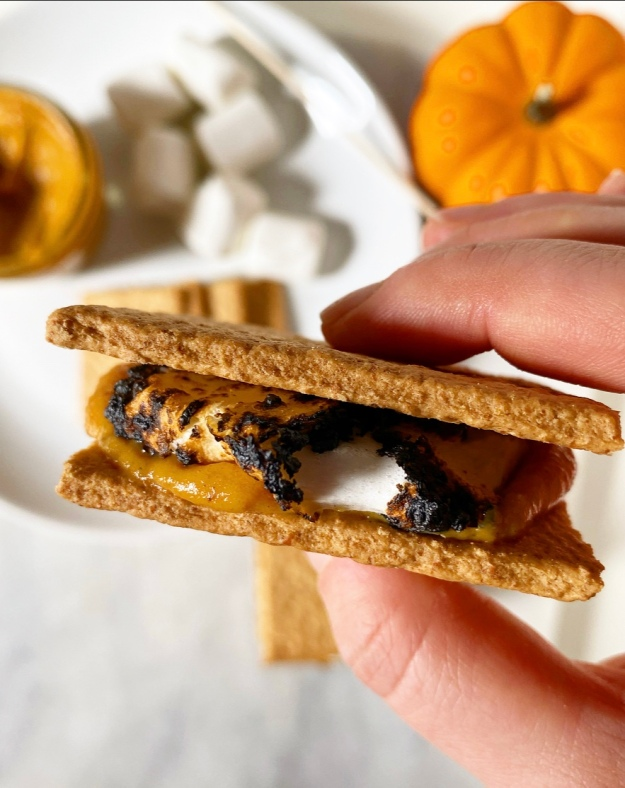 Pumpkin Spice Spread & Pumpkin Pie S'mores