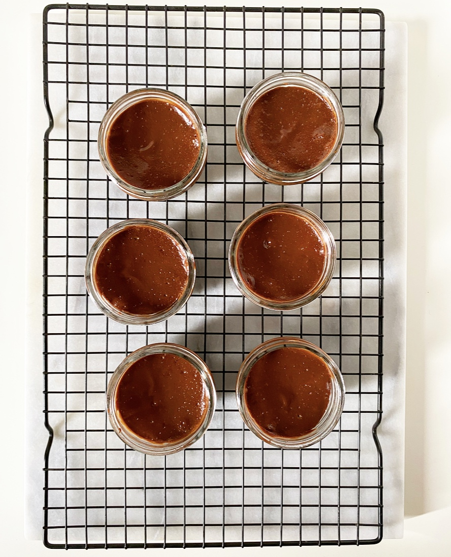 Mini Mason Jar Chocolate Cheesecakes