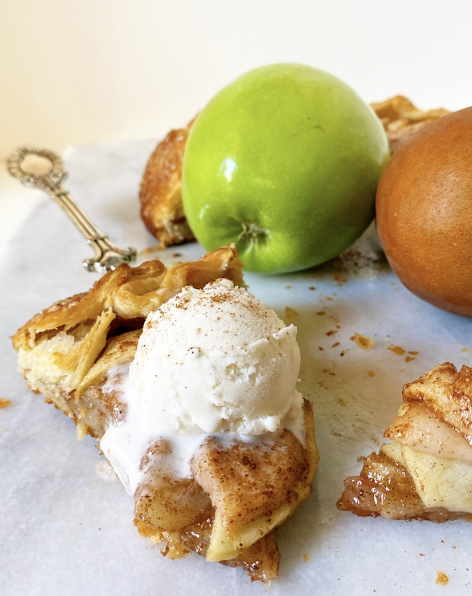 Apple & Pear Galette