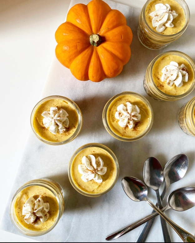 Little Pumpkin Pie Jars
