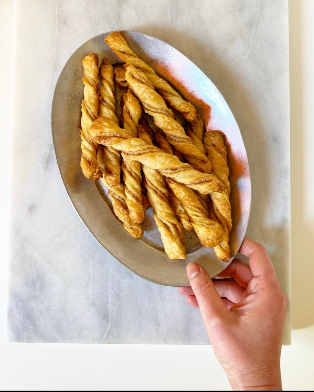 Pie Crust Cinnamon Twists