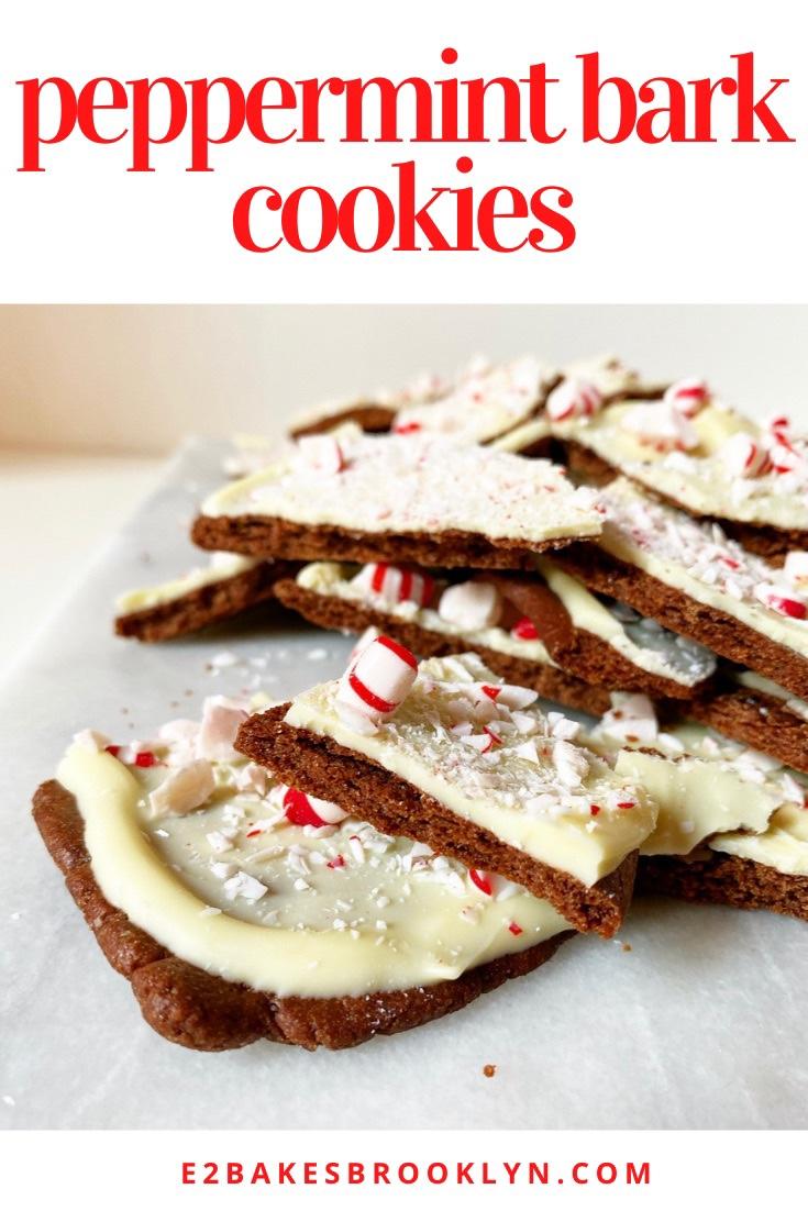Peppermint Bark Cookies
