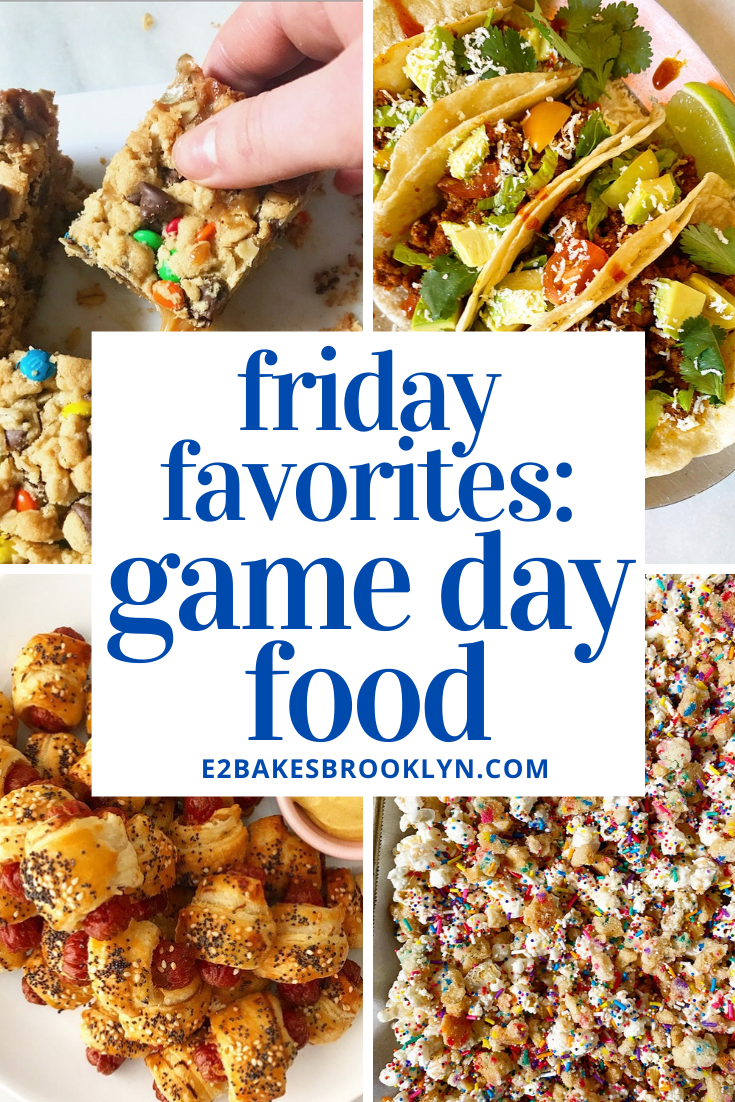 Friday Favorites: Game Day