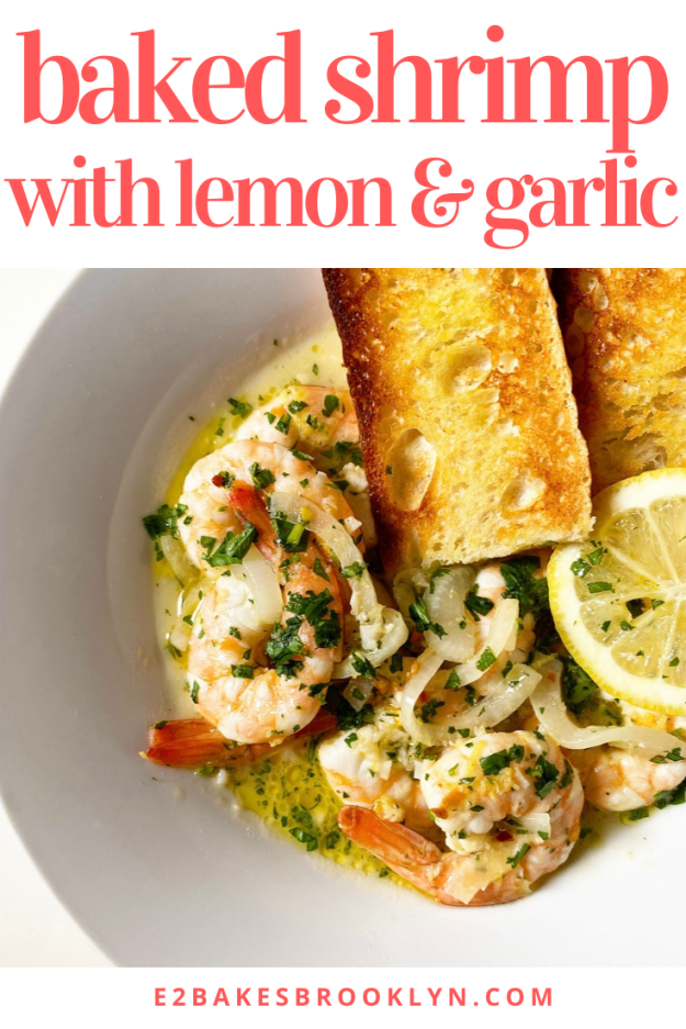Baked Shrimp with Lemon & Garlic