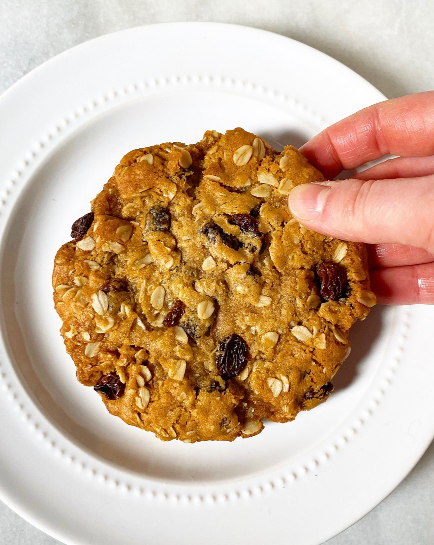One Big Oatmeal Cookie