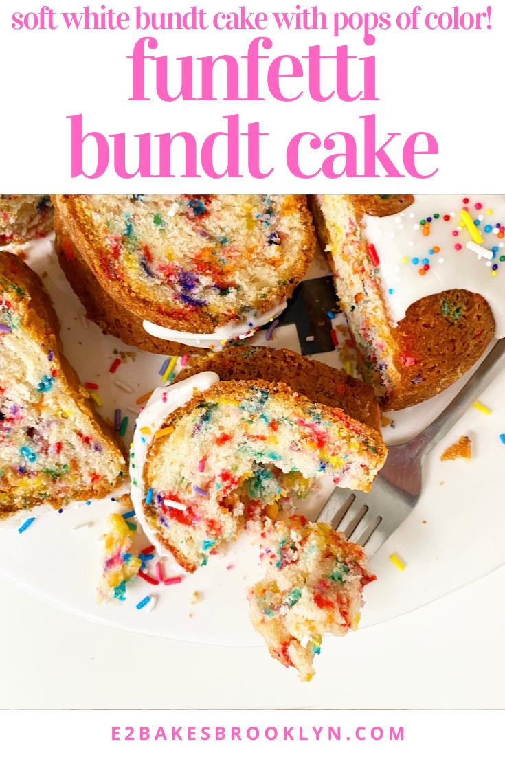 Funfetti Bundt Cake