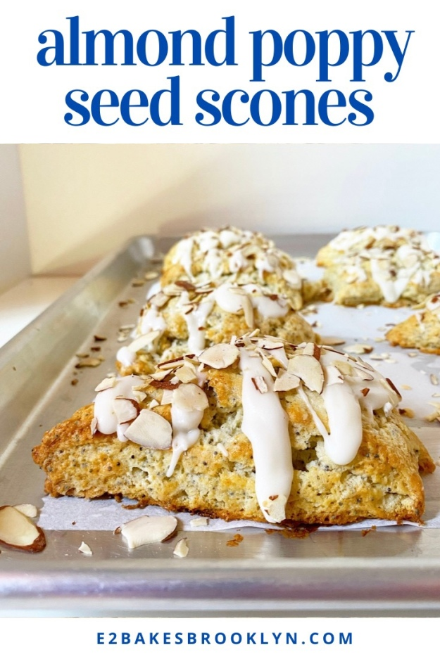 Almond Poppy Seed Scones