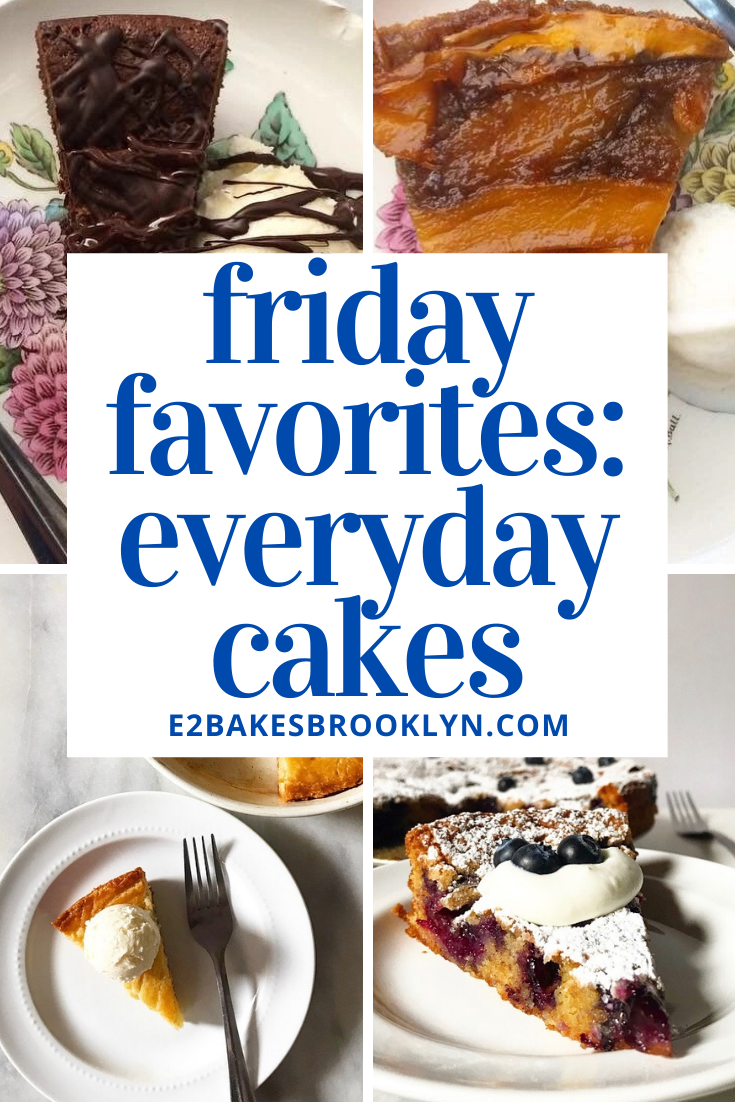 Friday Favorites: Everyday Cakes {Spring Edition}