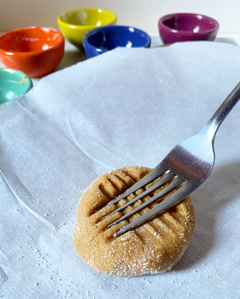 One Big Peanut Butter Cookie, Two Ways