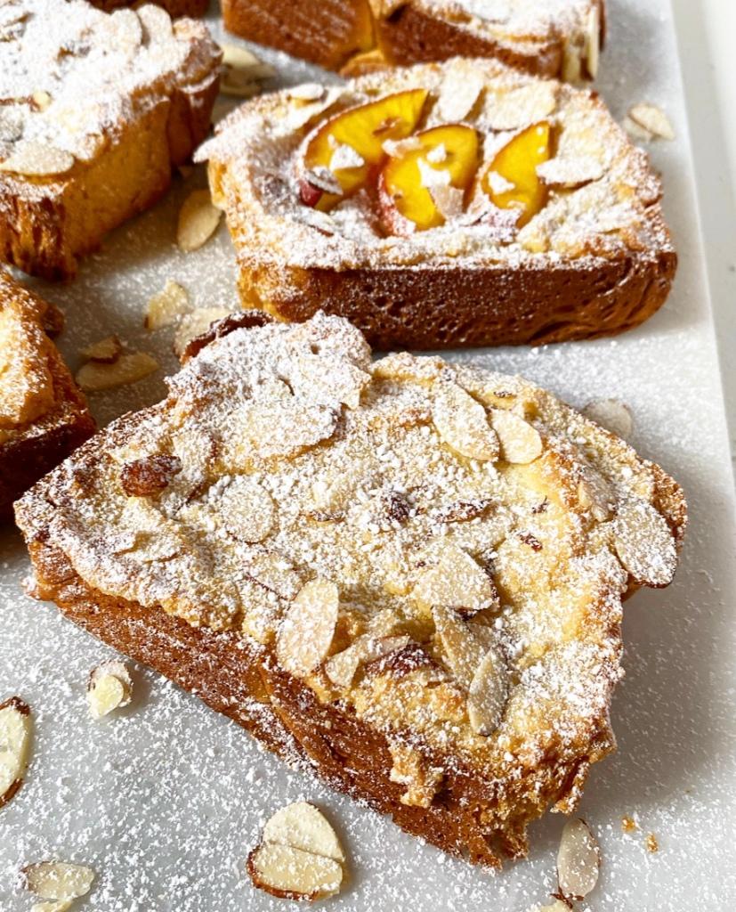 Bostock {Toasted Brioche with Almonds}